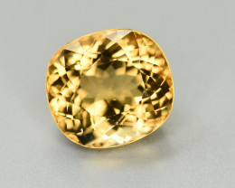 6.70  Ct Natural Heliodor ~ AAA Grade ~ Yellow Color