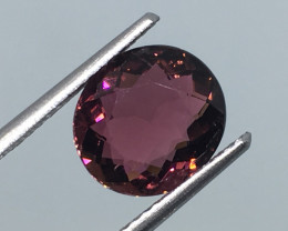 2.42 Carat VS  Tourmaline Pinkish Purple Mozambique !