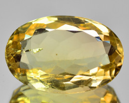 16.41 Cts Fancy Golden Yellow Color Natural Citrine Gemstone