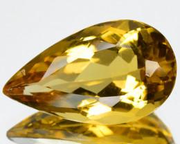 5.73 Cts Rare Golden Yellow Natural Beryl Gemstone