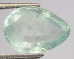 3.92 Cts Untreated Sky Blue Color Natural Aquamarine Gemstone