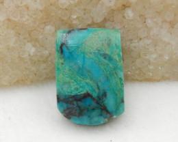 35.5cts Chrysocolla Stone Pendant,  Chrysocolla Healing stone G590