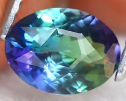 Tanzanite 0.97Ct VVS Master Cut Natural Purplish Blue Tanzanite B1211