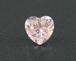 Unheated Sapphire .30 Ct Amazing Gemstone Heart Well Cut (01701)