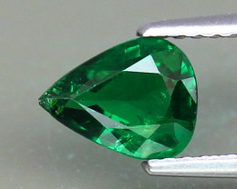 Natural Tsavorite Garnet - 1.11 ct