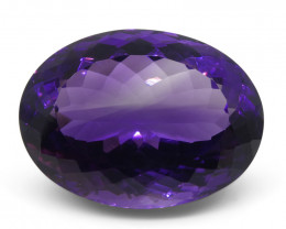 19.91 ct Oval Amethyst