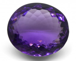 18.49 ct Oval Amethyst