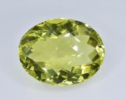 19.36 Crt Lemon Quartz  Faceted Gemstone (Rk-48)