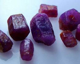 99.80  CTs CT Natural & Unheated Purple Corundom Rough Lot