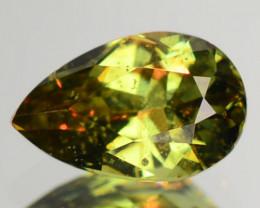 0.32 Cts Untreated Color Changing Natural Demantoid Garnet Gemstone