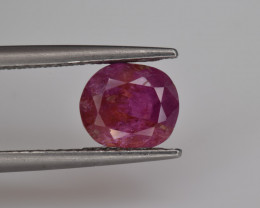 Natural ruby 2.80 Cts Top Quality from Afghanistan