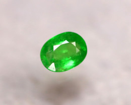 Tsavorite 1.11Ct Natural Intense Vivid Green Color Tsavorite Garnet DR189