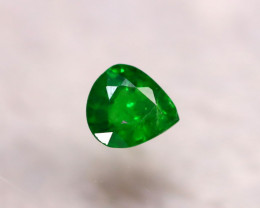 Tsavorite 0.96Ct Natural Intense Vivid Green Color Tsavorite Garnet DR191