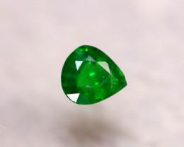 Tsavorite 0.96Ct Natural Intense Vivid Green Color Tsavorite Garnet DR191