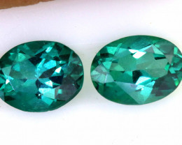 2.45 CTS   GREEN QUARTZ FACETED  PARCEL CG-3219