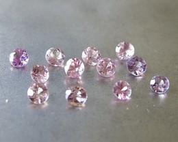 2.1ct unheated pink sapphire