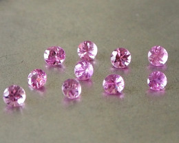 1.67ct unheated hot pink sapphire