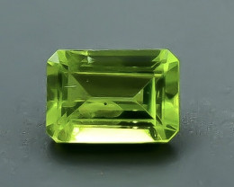 0.99 Crt  Peridot Faceted Gemstone (Rk-49)