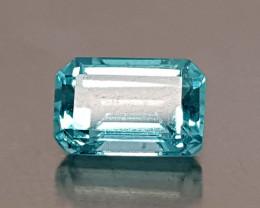 0.75CT NEON BLUE APATITE BEST QUALITY GEMSTONE IIGC39