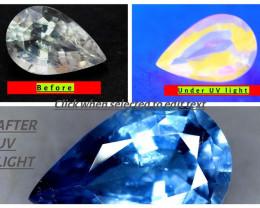 4 Carats Rare Tenebrescent Scapolite Gemstone