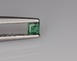 Natural Emerald 0.06 Cts Quality Gemstone from Panjshir, Afghanistan