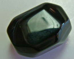 BOSTWANA BLACK AGATE FACETED BEAD DRILLED 42.25CTS NP-1999