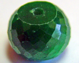 EMERALD BEAD FACETED 13.10 CTS CG-2114