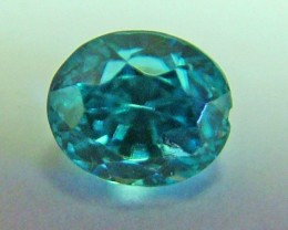 BLUE ZIRCON FACETED STONE 1.8 CTS AS-520