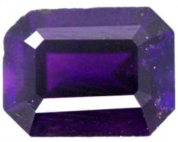 1.35 CTS AMETHYST FACETED STONE  CG - 217