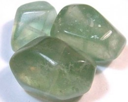 83 CTS CHINESE JADE STONE DRILLED (3PC)  ADG-435