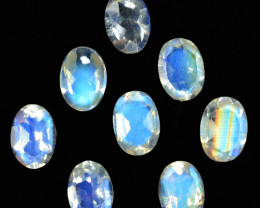 5.58 Cts Untreated Royal Blue Moonstone Oval Cut Bihar India Parcel