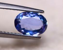 1.22ct Natural Violet Blue Tanzanite Oval Cut Lot A900