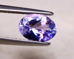 1.23ct Natural Violet Blue Tanzanite Oval Cut Lot A902