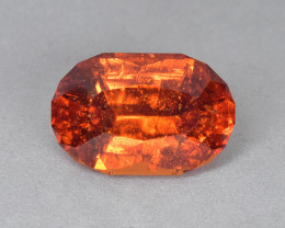 6.95 Cts Wonderful Orange Color Natural Mozambique Spessartite Garnet