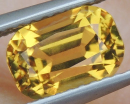 1.75cts Yellow Beryl,  Clean,