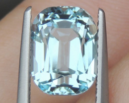 3.50cts  Aquamarine,   Clean, Unheated