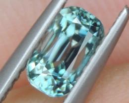 1.25cts, Blue Zircon,
