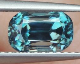 2.15cts, Blue Zircon,