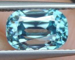 3.60cts, Blue Zircon,