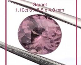 Pretty Pink Oval Garnet - NR28