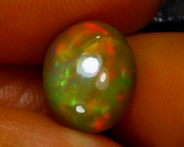 Welo Opal 3.31Ct Natural Ethiopian Play of Color Opal D2034/A44