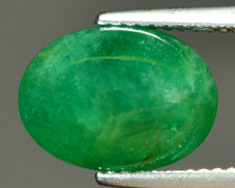 4.66 Cts Natural Vivid Green Zambian Emerald Loose Gemstone