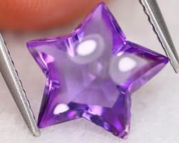 Amethyst 2.66Ct VVS Designer Cut Natural Bolivian Purple Amethyst B1611