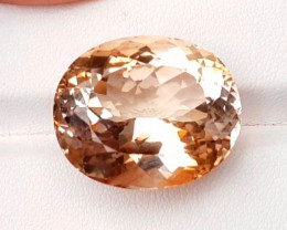 37.80 Carat natural topaz gemstone from pakistan