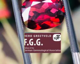 5.3CT-BEST QUALITY -Rhodolite garnet-GORGEOUS