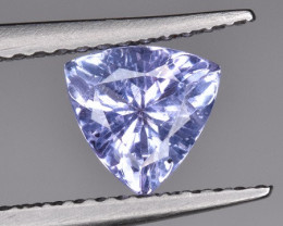 Trillion Cut Beautiful Tanzanite Gemstone 0.90 CTS