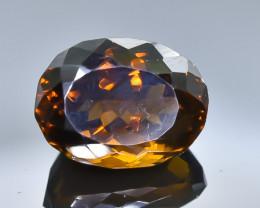 12.90 Crt Conic Quartz  Faceted Gemstone (Rk-50)