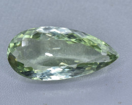 29.20 Crt Green Prasiolite Amethyst  Faceted Gemstone (Rk-50)