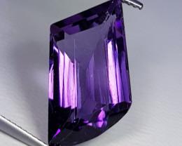 10.35 ct Exclusive Gem Superb Fancy Cut Natural Purple Amethyst