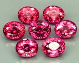 6.31 ct. 100% Natural Earth Pink Rhodolite Garnet Africa - 7 Pcs
